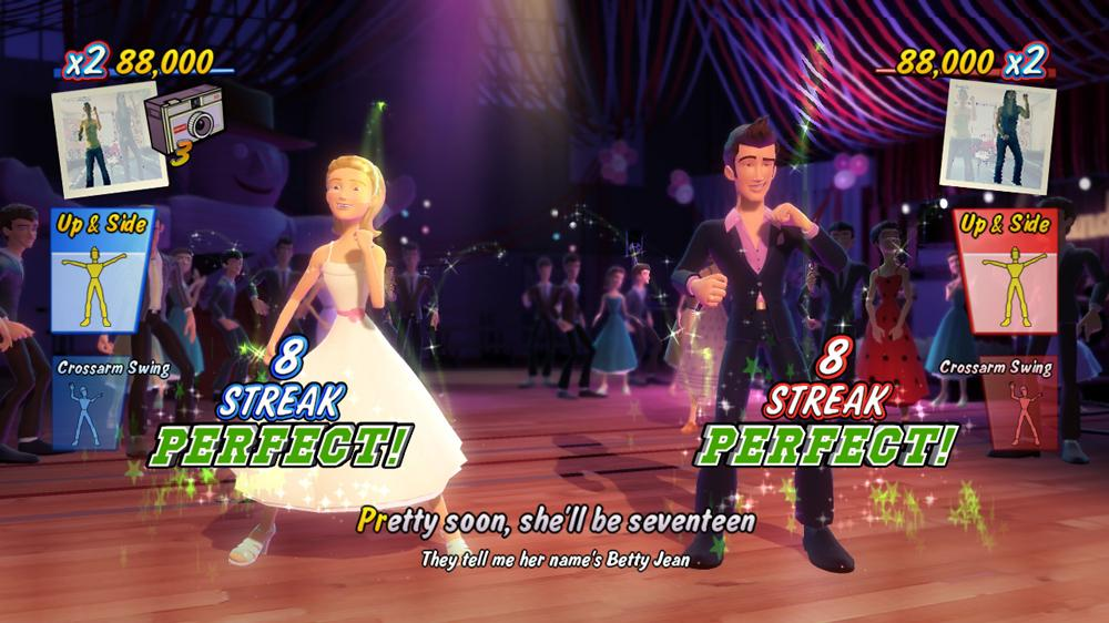 Image from Grease Dance Launch Trailer