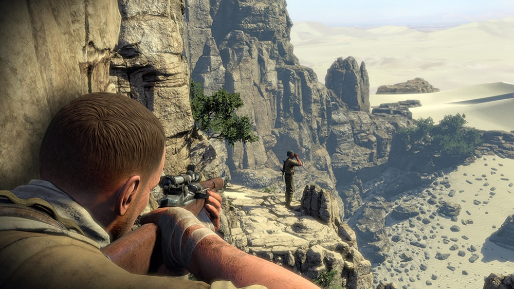 Image from Sniper Elite 3 Announcement Trailer