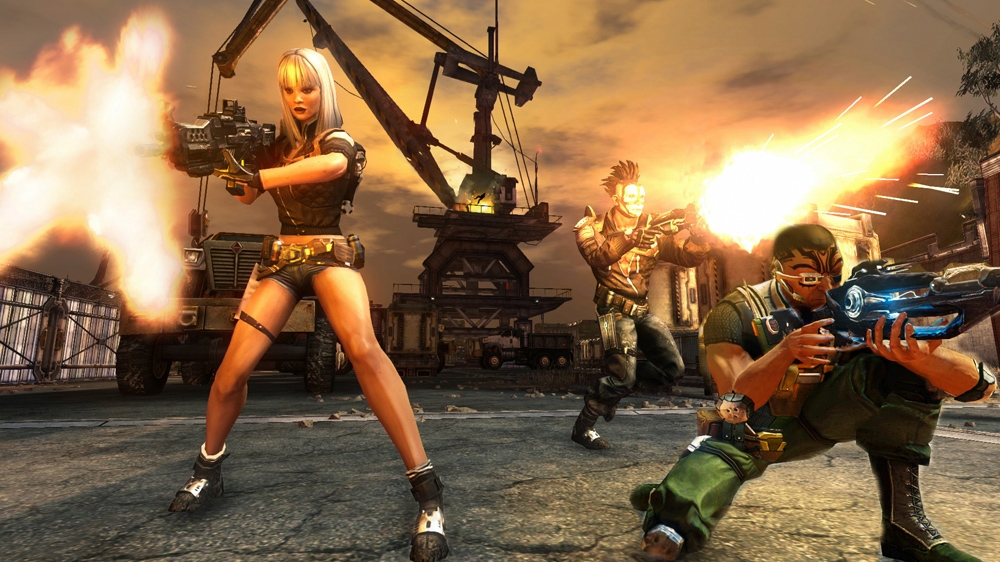 Image from Defiance™ Massive Co-op Trailer
