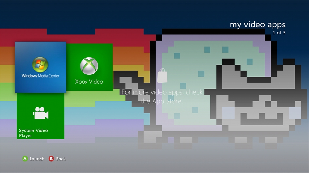 Image from Nyan Cat Devilish Theme