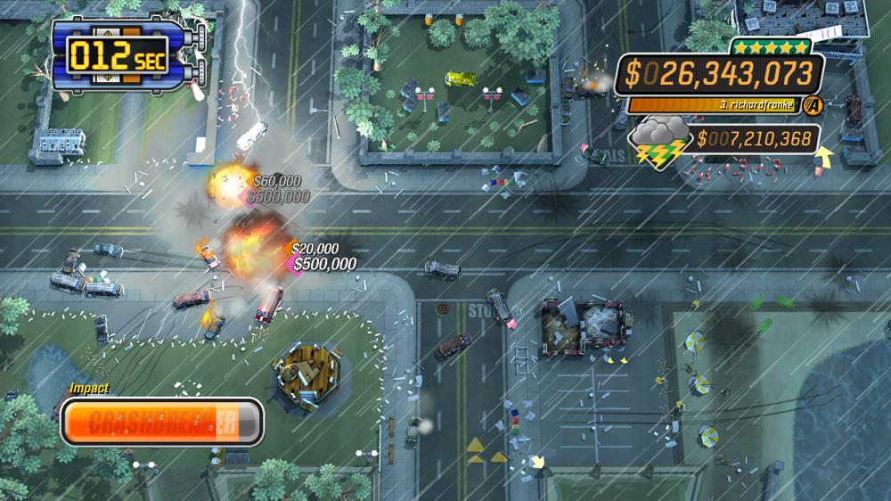 Image from Burnout™ Crash!  Cheerleader Hoff trailer