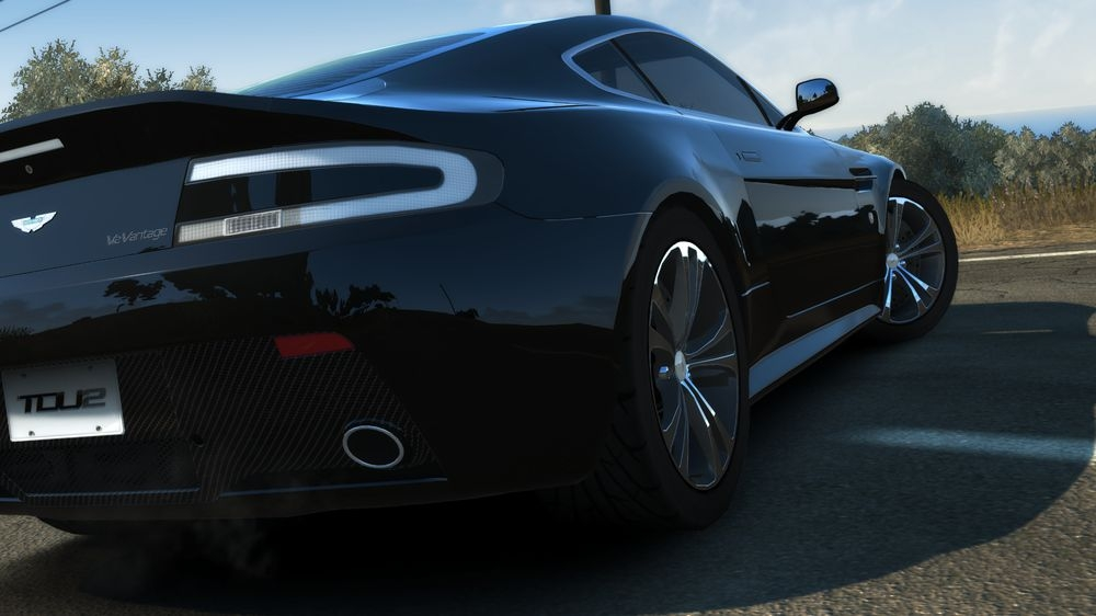 Image from TDU2:Aston Martin V12 Vantage Carbon Black Edition