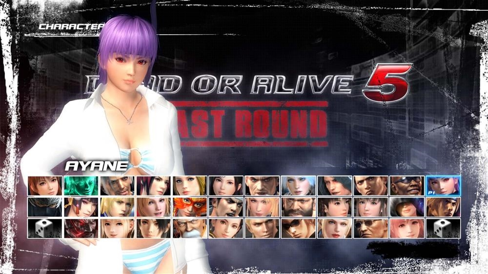 Image from DOA5LR Hot Summer Ayane Costume
