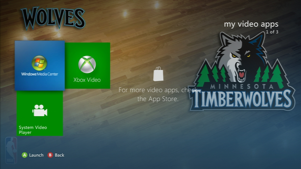 Image from NBA: Timberwolves Center Court