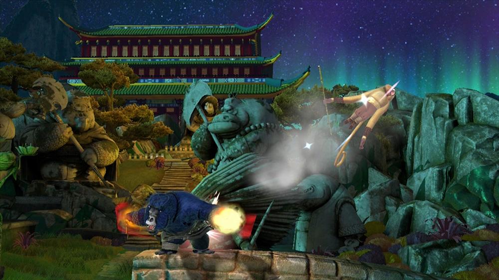 Image de Kung Fu Panda Nivel: Jardín del Maestro