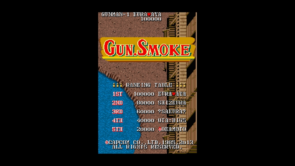 Image from CAPCOM ARCADE CABINET : GUN. SMOKE
