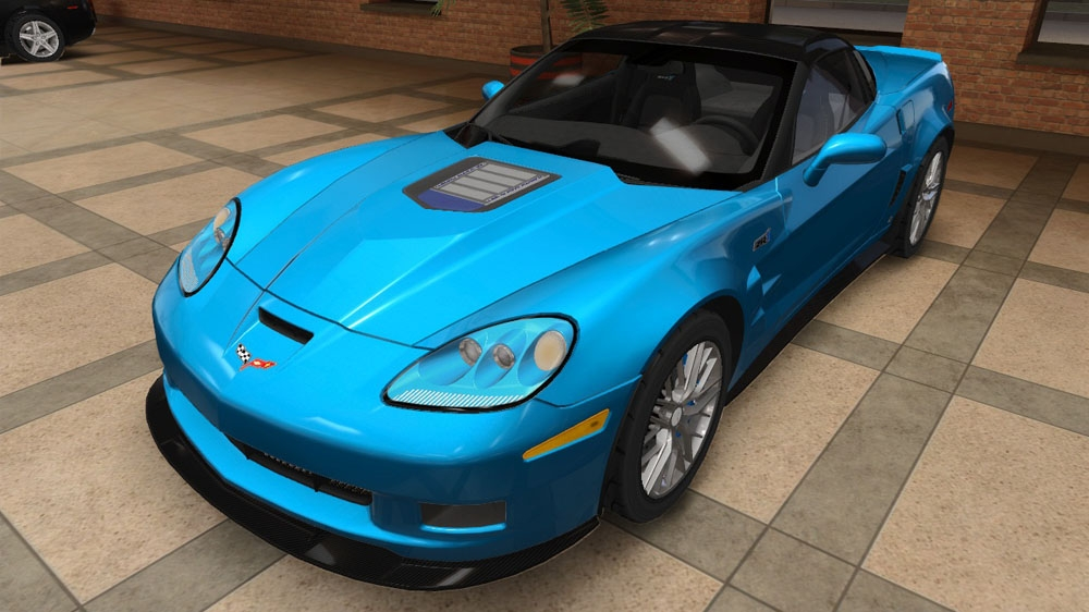 Image from TDU2: Chevrolet Corvette ZR1