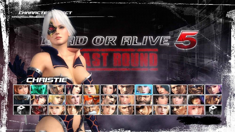 Image from DOA5LR Fighter Force Christie