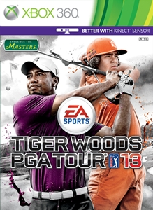 Pack de 5 campos de Tiger Woods PGA TOUR® 13