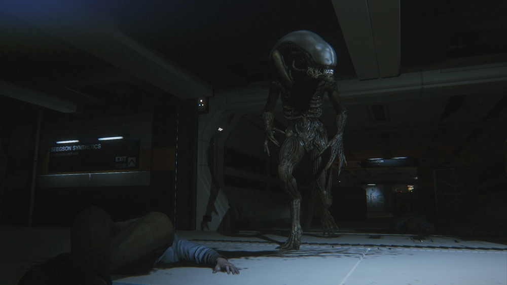 Image from Alien: Isolation CGI Trailer - Improvise