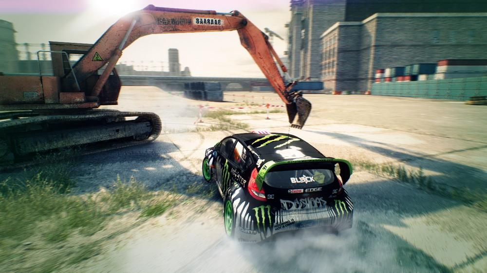 Image from DiRT 3 Group B Trailer