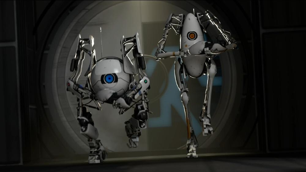 Image from Portal 2 Co-op trailer