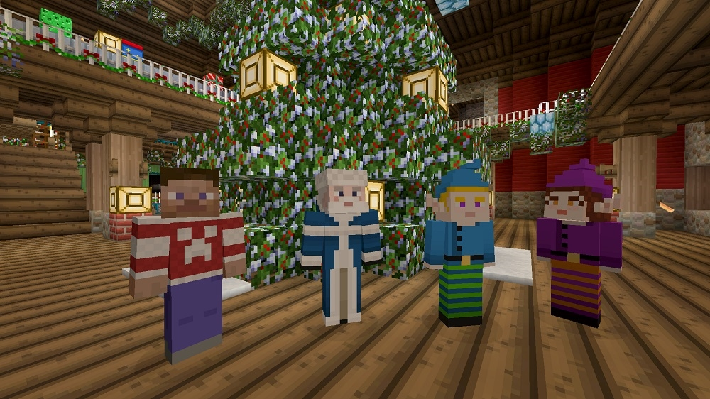 Image from Minecraft Merry Bundle