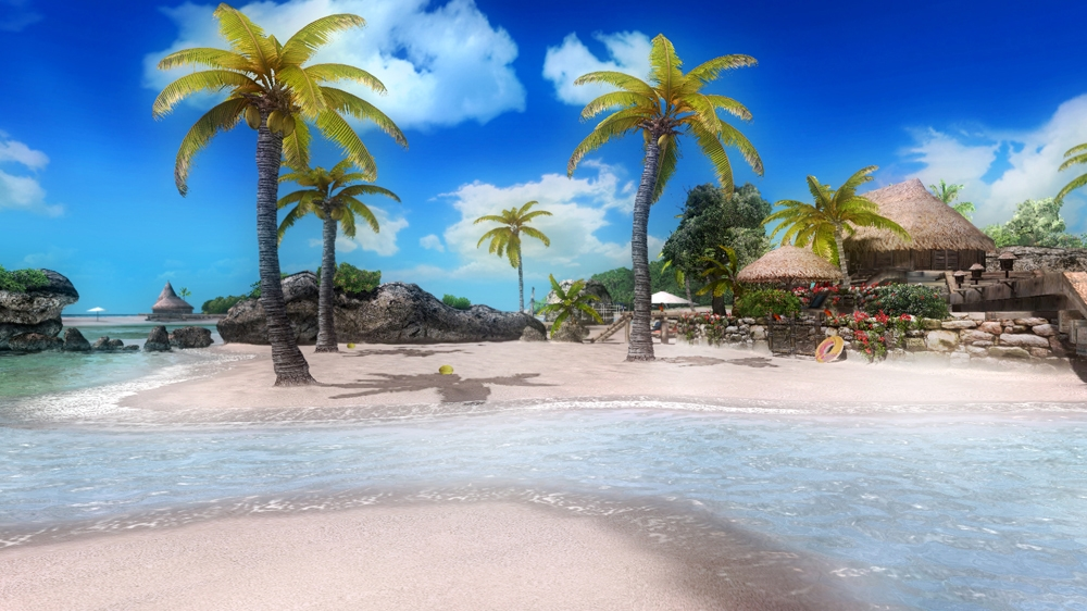 Image from Dead or Alive 5 Zack Island Stage