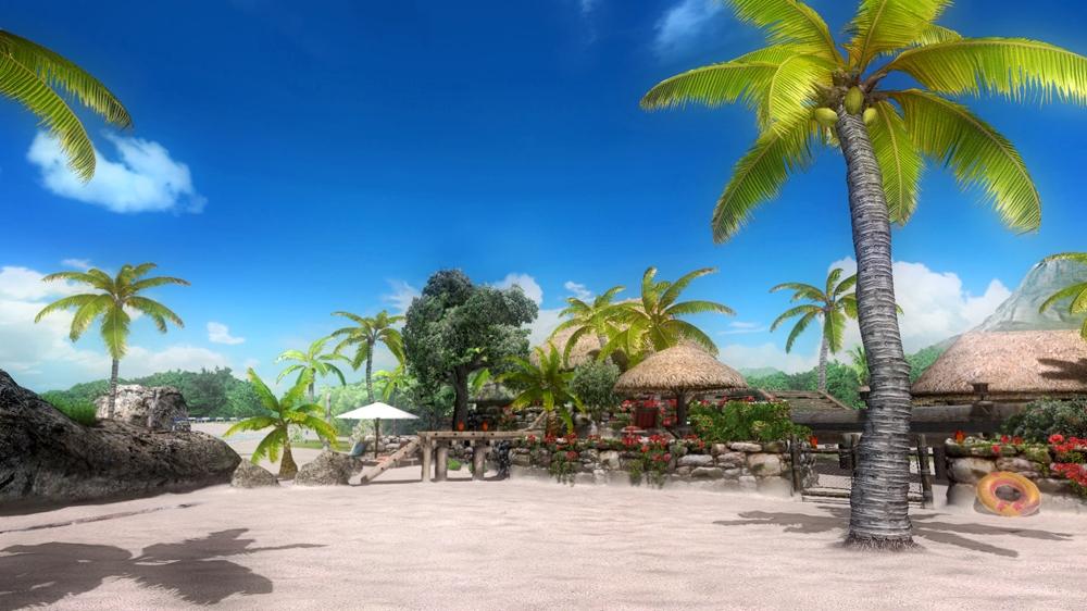 Kuva pelistä Dead or Alive 5 Zack Island Stage
