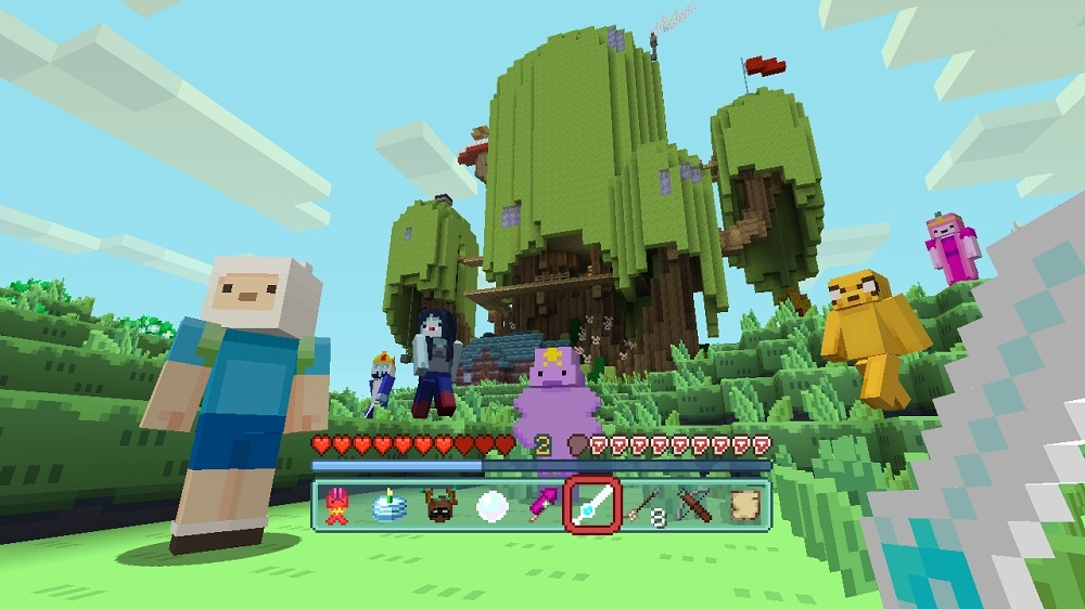Image de Mash-up Adventure Time Minecraft