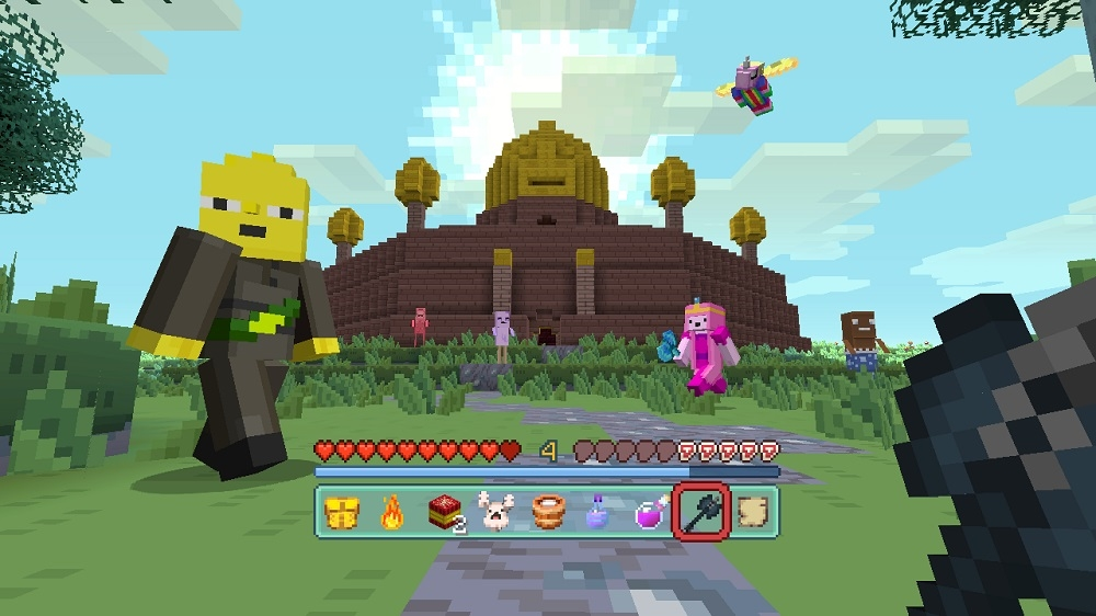 Image from Minecraft Adventure Time Mash-up