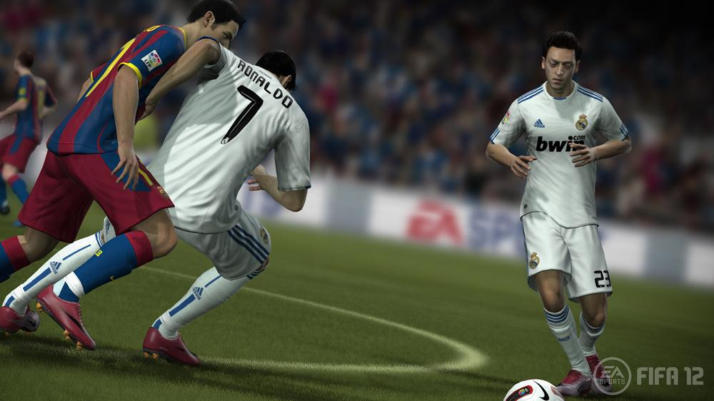 Image from EA SPORTS™ FIFA 12 Accolades Trailer