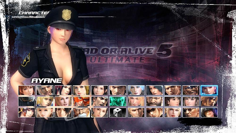 Image de Dead or Alive 5 Ultimate - Police Ayane
