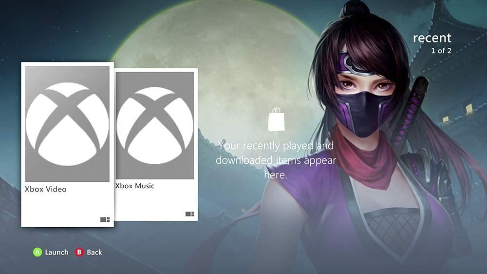 Image from Ana Ninja Rooftop Dynamic Theme 2