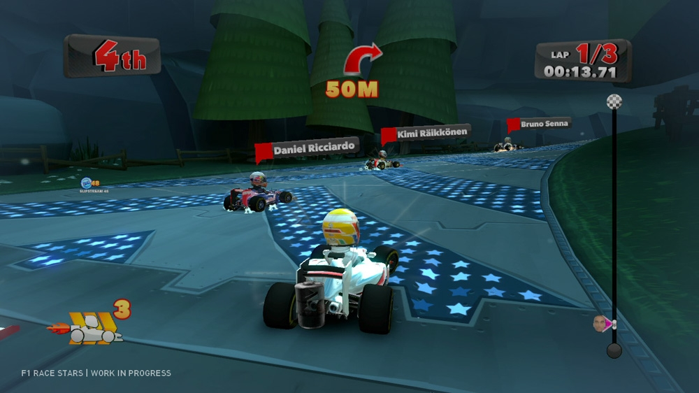 Image from F1 Race Stars Launch Trailer