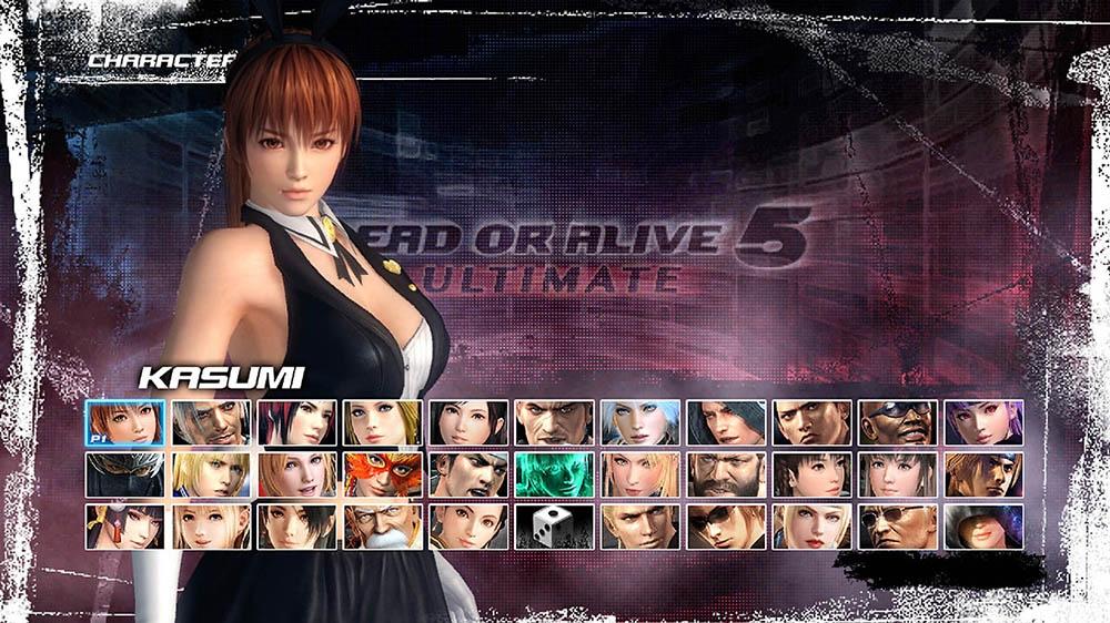 Image de Dead or Alive 5 Ultimate - Lapinou sexy Kasumi