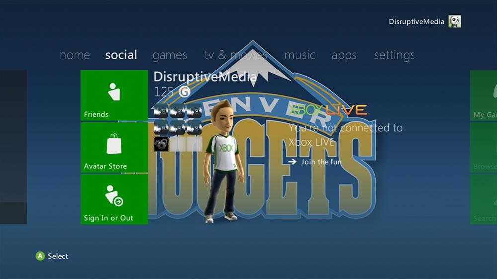 Image de NBA - Nuggets Highlight Theme