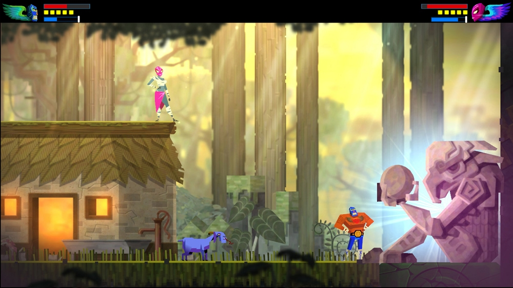 Image from Guacamelee! Super Turbo Championship Edition