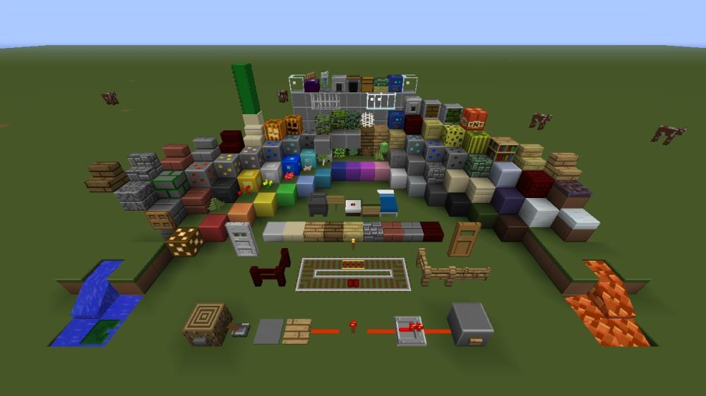 Image from Minecraft Plastic Texture Pack