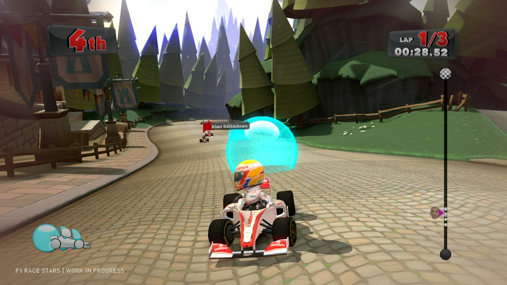 Kuva pelistä F1 Race Stars Gameplay Trailer 1
