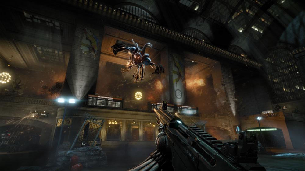 """Изображение из Crysis 2: """"Будь сильным"""""""