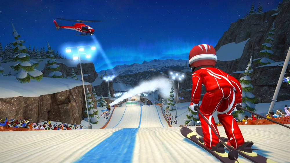 Image from Kinect Sports Season 2 - Midnight Mountain Trailer