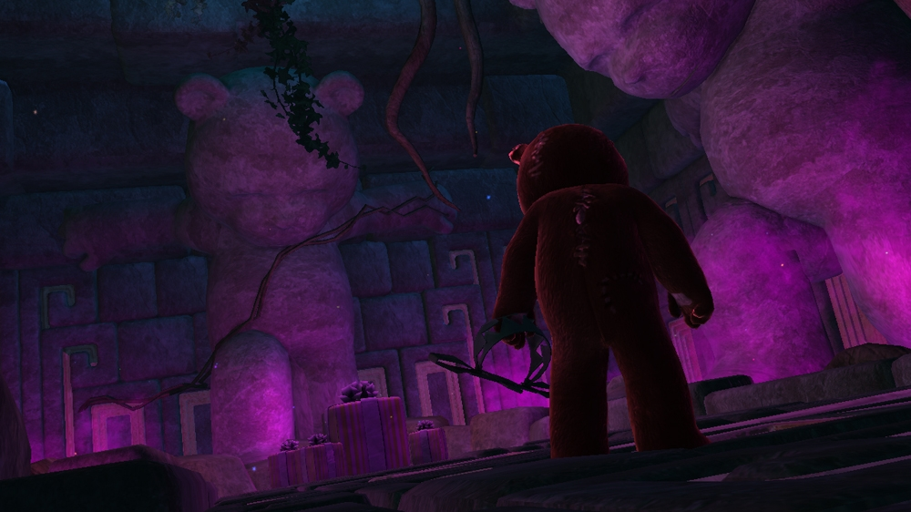 Image from Naughty Bear Panic in Paradise - Paradise Island Chainsaw Massacre Set