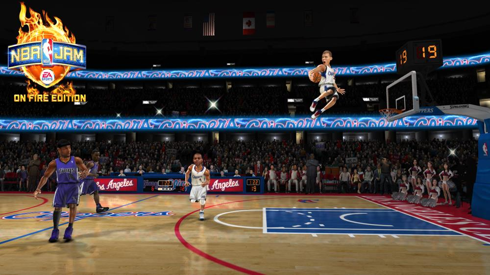 Image from NBA JAM: On Fire Edition - 1st Look Sizzle