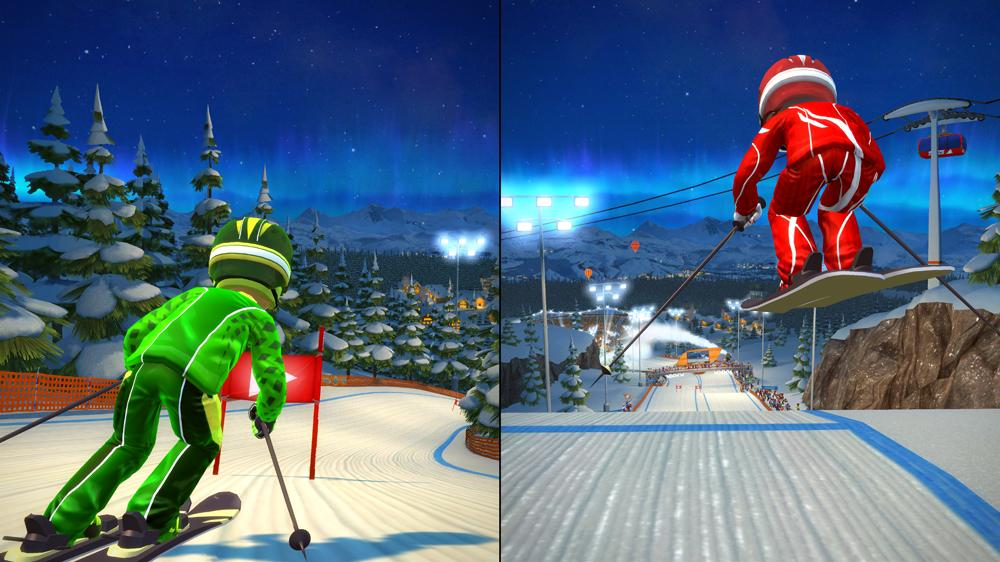 Image from Kinect Sports: Season Two - Midnight Mountain Pack