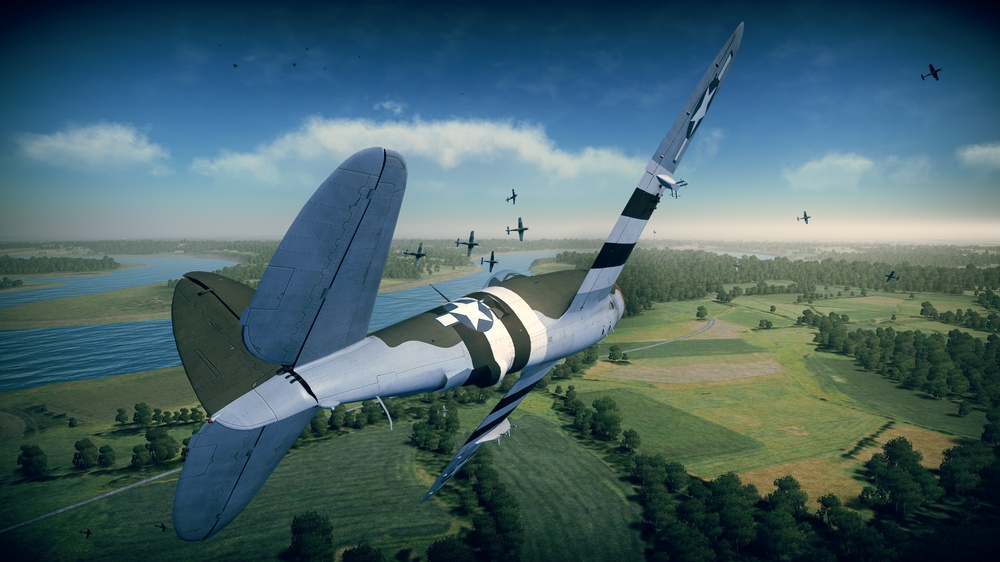 Image from Planes Pack 1: P-47 Thunderbolt & OS2U Kingfisher