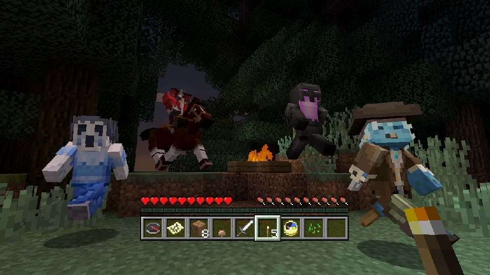 Image from Minecraft Campfire Tales Skin Pack