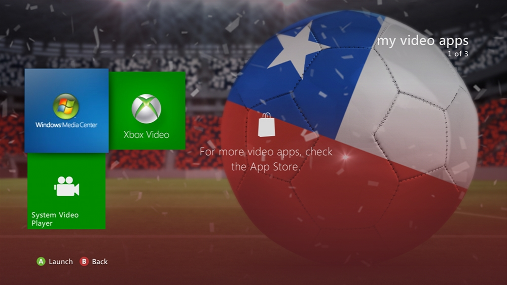 Image from World of Football - Chile Theme
