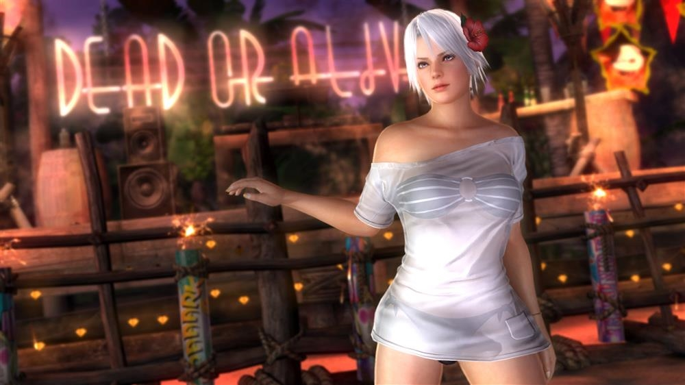 Image from DOA5LR Hot Summer Christie Costume