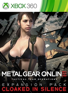 """METAL GEAR ONLINE EXPANSION PACK """"CLOAKED IN SILENCE"""""""