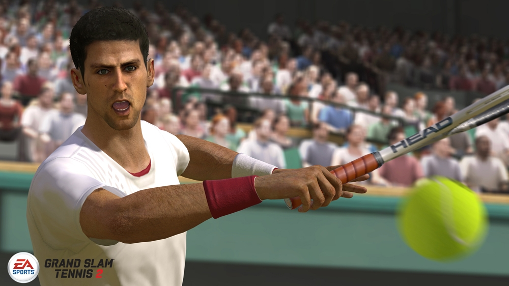 Image from EA SPORTS™ Grand Slam® Tennis 2 - Producer Video 1: Total Racquet Control