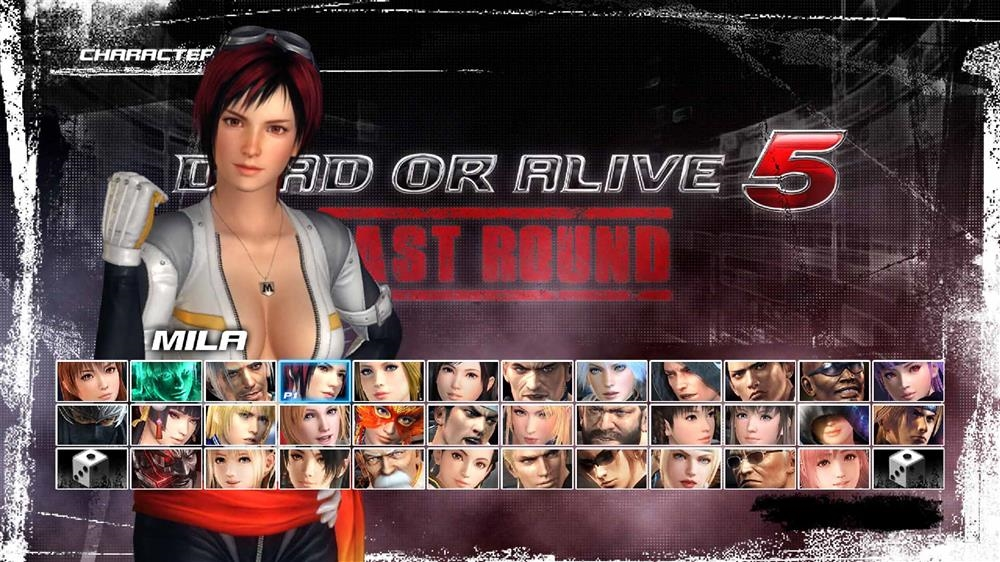 Image from DOA5LR Fighter Force Mila