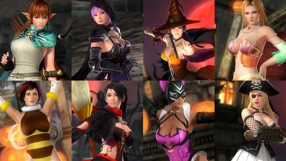 Image from DOA5LR Halloween Costume 2015 L Set