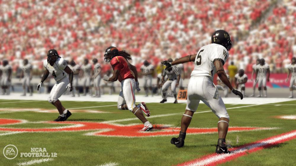 Image from NCAA® Football 12 Intro Video