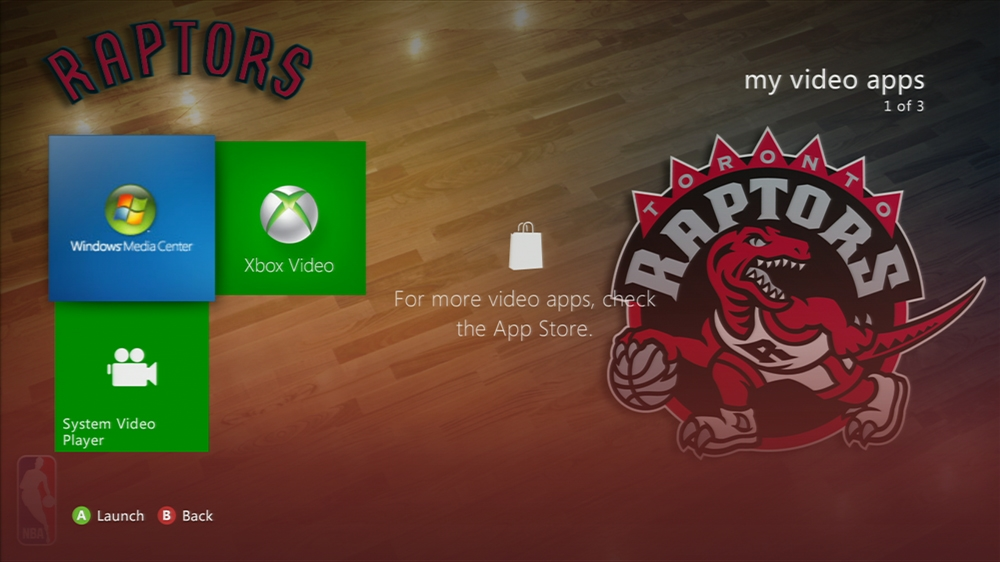 Kuva pelistä NBA: Raptors Center Court
