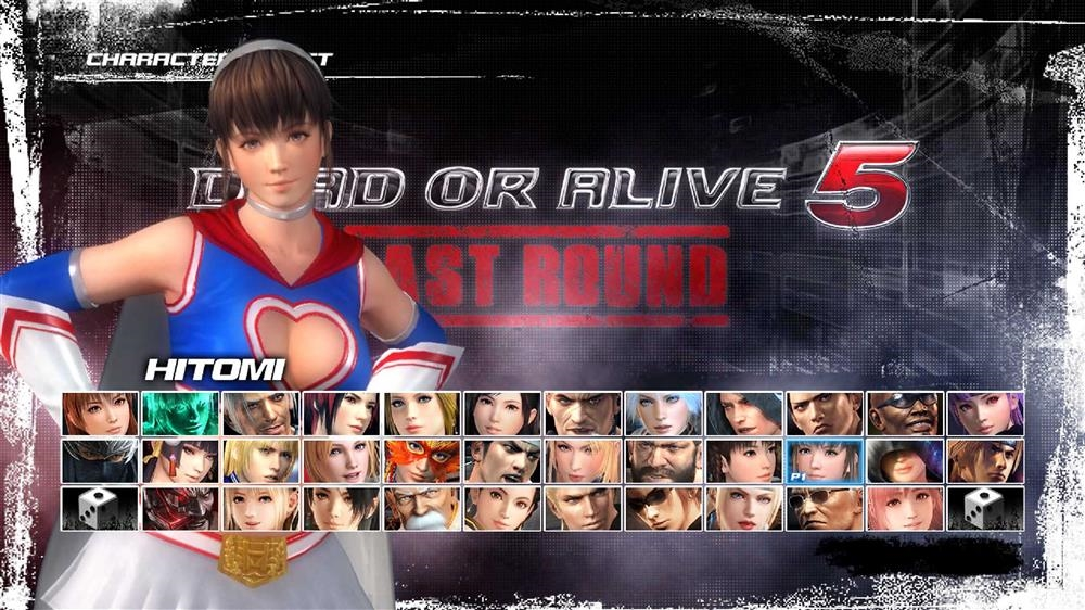 Image from DOA5LR Fighter Force Hitomi