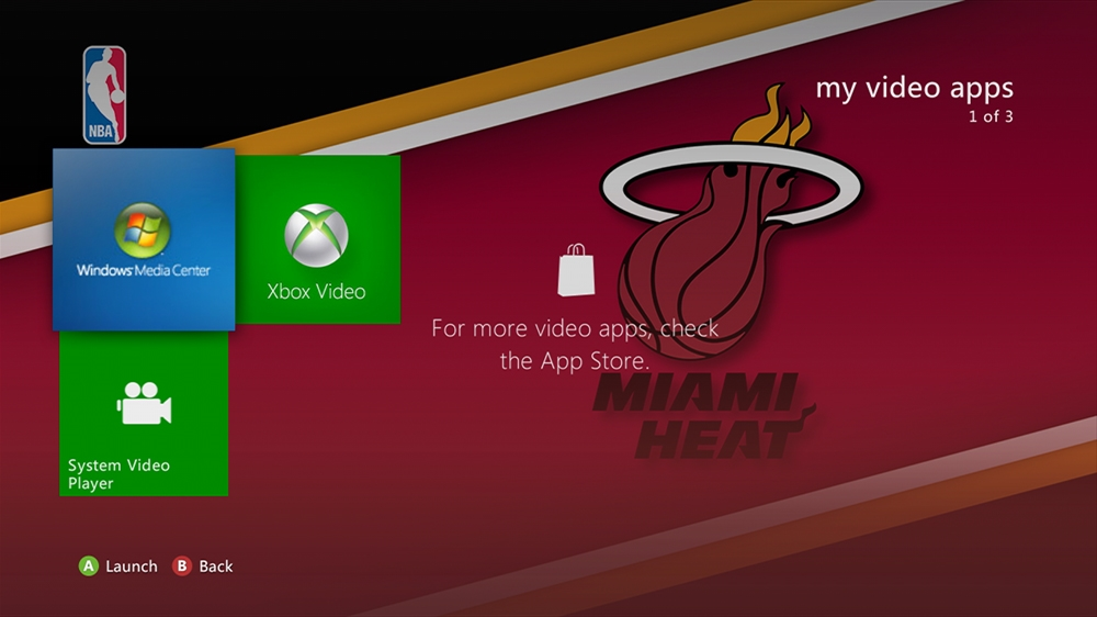 Image from NBA - Heat Highlight Theme