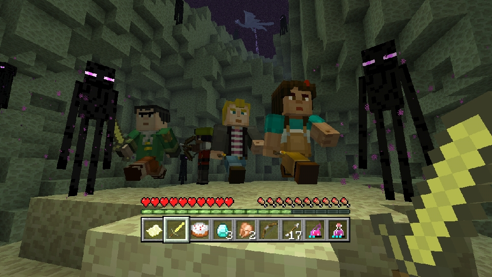 Image from Minecraft Story Mode Skin Pack