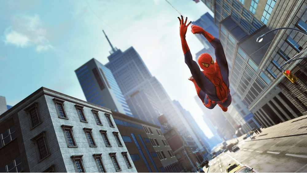 Image from The Amazing Spider-Man Trailer