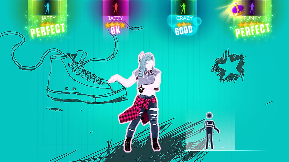 "Kuva pelistä Just Dance 2015 - ""Rock N Roll"" by Avril Lavigne"